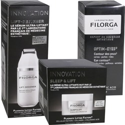 FILORGA INNOVATION CREAM PACK SLEEP & FLIFT 50 ML + LIFT DESIGNER 30 ML + OPTIM EYES 15 ML FILORGA