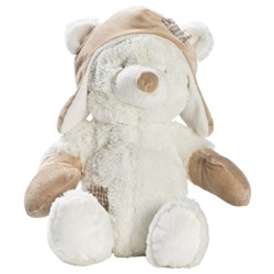 STOY White Bear Soft Toy