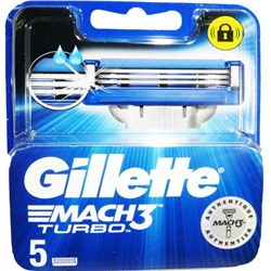 GILLETTE MACH 3 TURBO 5 ЛЕЗВИЙ ЖИЛЕТ