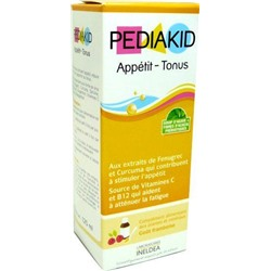PEDIAKID APPETITE СИРОП - TONE 125ML PEDIAKID