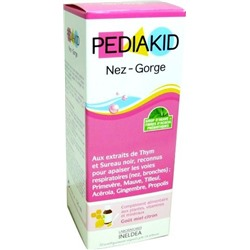 PEDIAKID СИРОП НОС - ГОРЛОВОЕ 125ML PEDIAKID